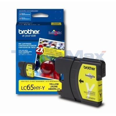 BROTHER MFC-5890CN INK CARTRIDGE YELLOW HY